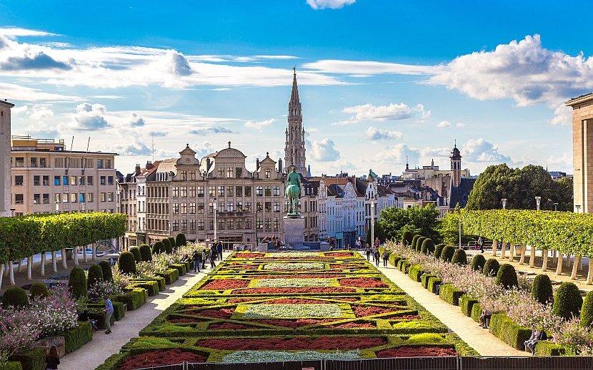 比利時-布魯塞爾-由藝術家之丘望向大廣場