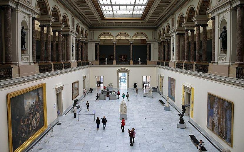 比利時-布魯塞爾-比利時皇家美術博物館