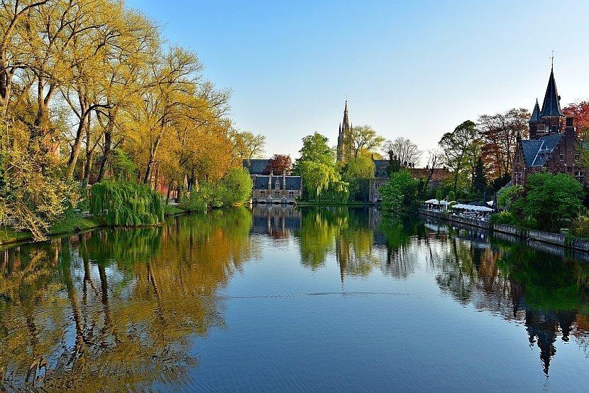 比利時-布魯日-愛之湖公園