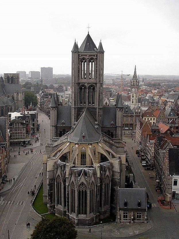 比利時-根特-聖尼可拉斯教堂