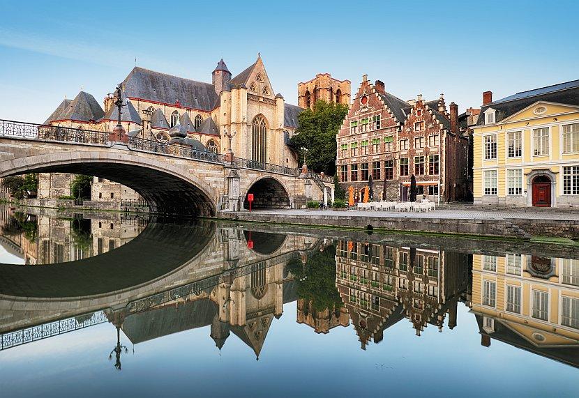 比利時-根特-聖米歇爾橋