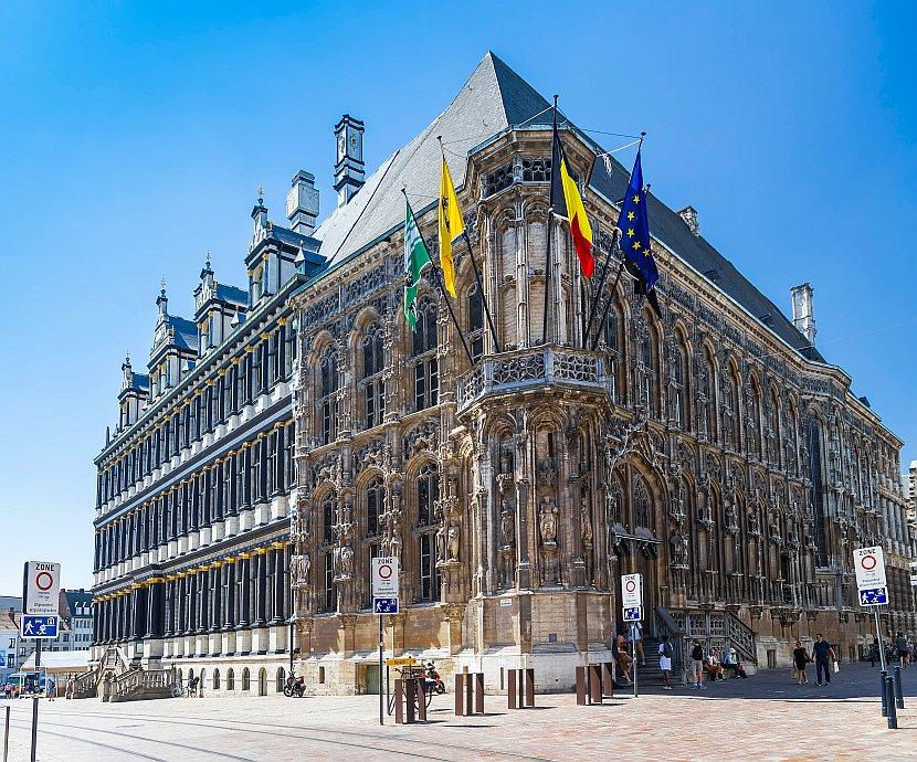 比利時-根特-根特市政廳