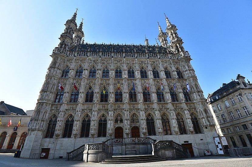 比利時-魯汶-魯汶市政廳