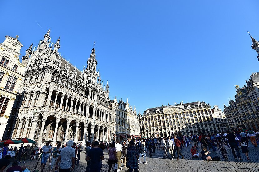 比利時-布魯塞爾-大廣場