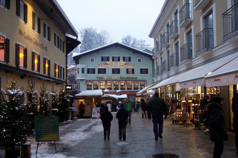 貝希特斯加登Berchtesgaden市區