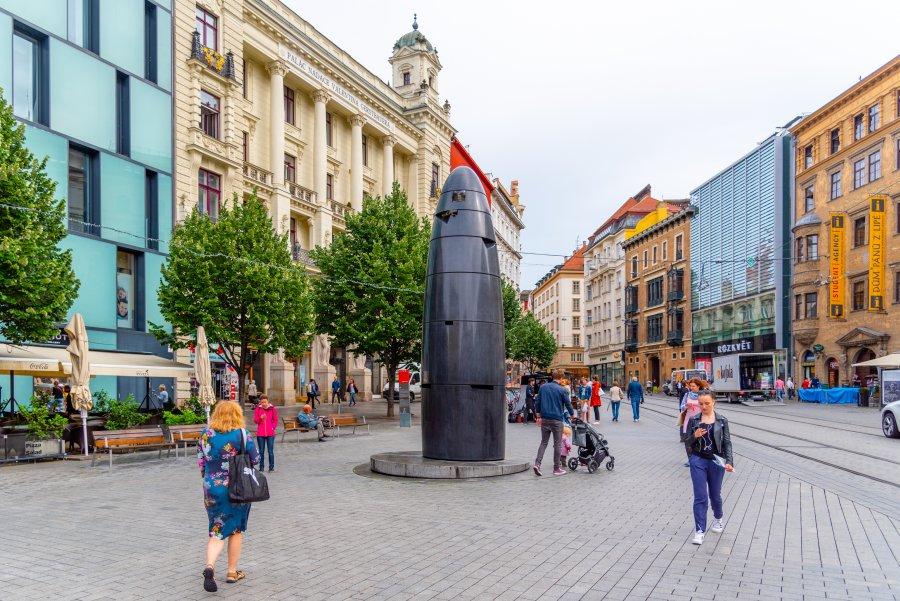 捷克-布爾諾-自由廣場