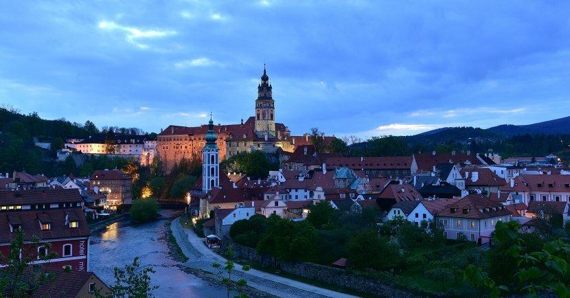 捷克-庫倫洛夫-庫倫洛夫城堡