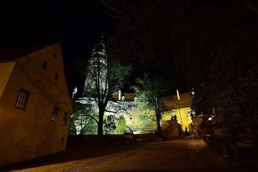 捷克-庫倫洛夫-庫倫洛夫城堡-第一庭院