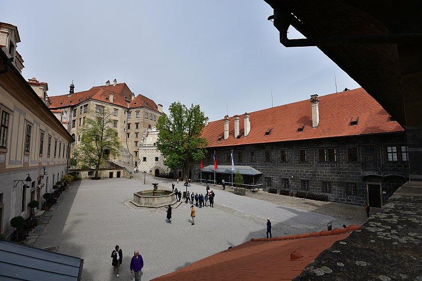 捷克-庫倫洛夫-庫倫洛夫城堡-第二庭院