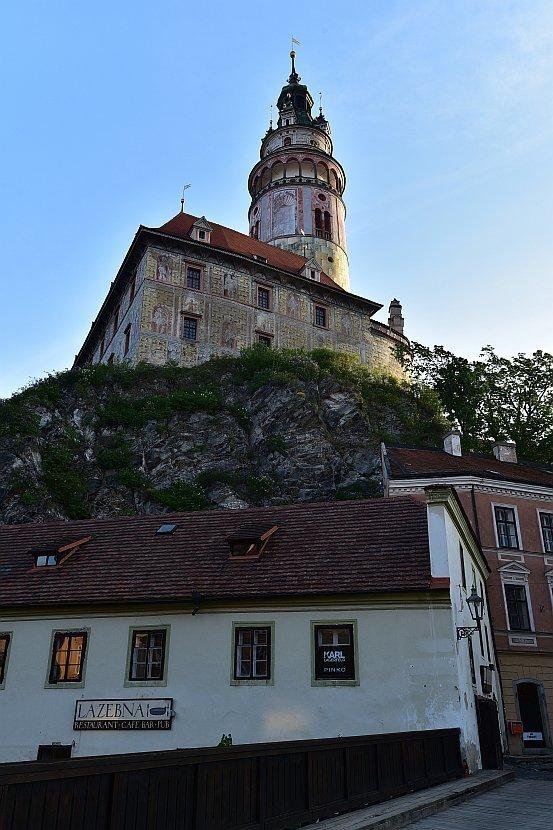 捷克-庫倫洛夫(Český Krumlov)-彩繪塔