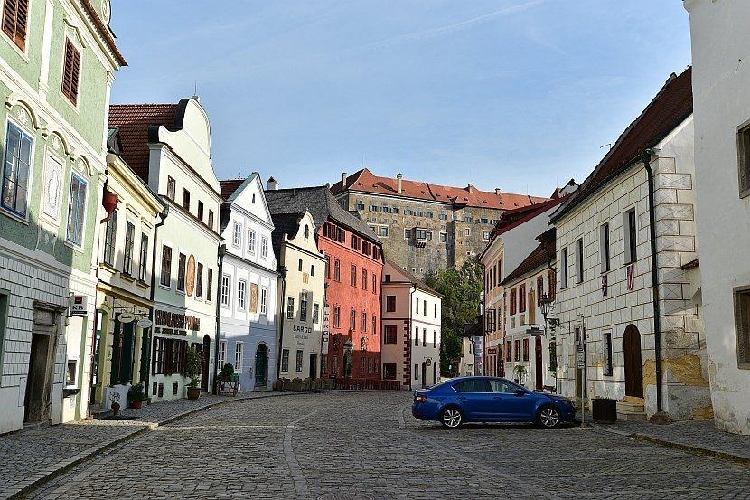 捷克-庫倫洛夫(Český Krumlov)-內城區