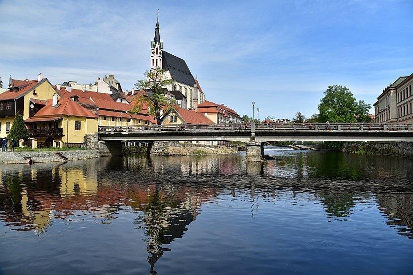 捷克-庫倫洛夫(Český Krumlov)-內城區聖維特教堂