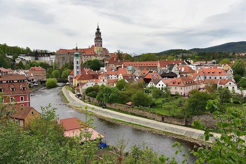 捷克-庫倫洛夫(Český Krumlov)-伏爾塔瓦河與庫倫洛夫城堡