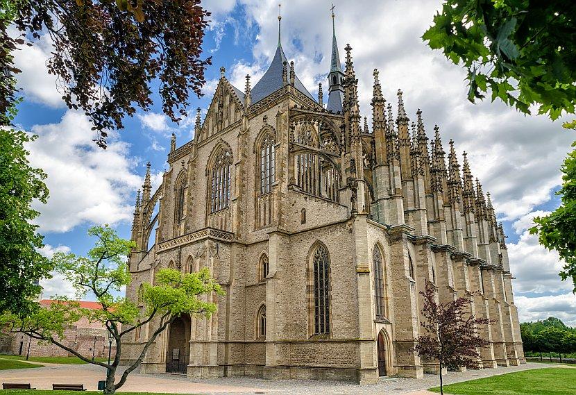 捷克-庫特納霍拉-聖芭拉拉教堂