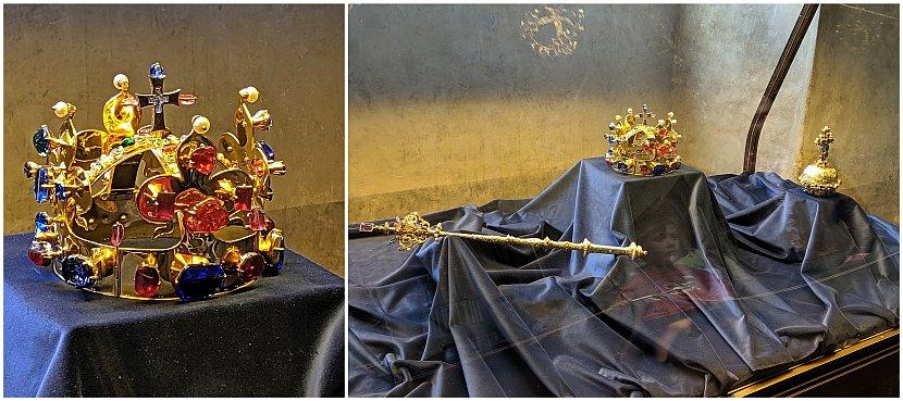 捷克-布拉格-布拉格城堡-舊皇宮波希米亞皇冠複製品