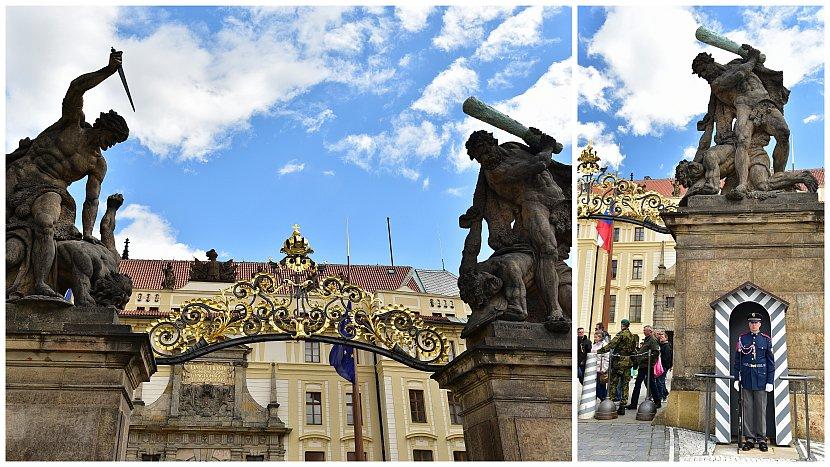 捷克-布拉格-布拉格城堡-馬提亞斯門