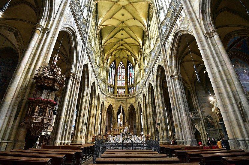 捷克-布拉格-布拉格城堡-聖維特大教堂