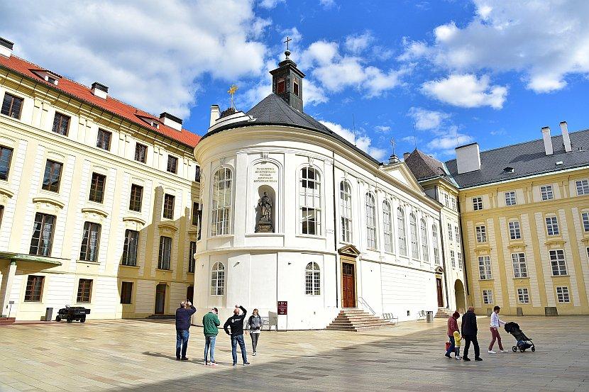 捷克-布拉格-布拉格城堡-聖十字禮拜堂
