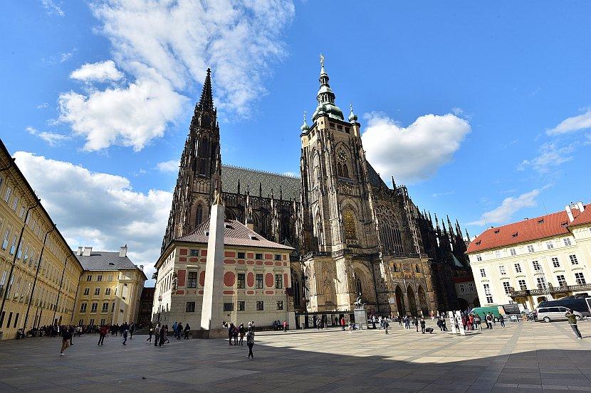 捷克-布拉格-布拉格城堡聖維特大教堂