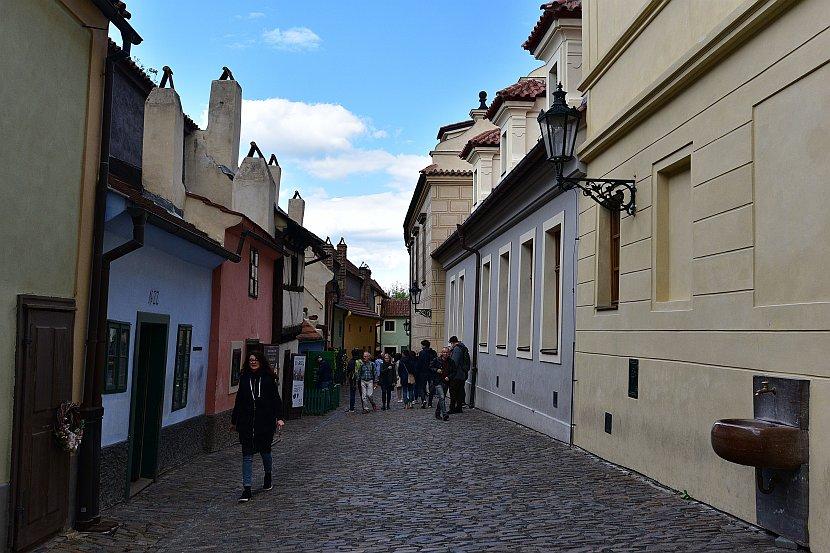 捷克-布拉格-布拉格城堡-黃金巷
