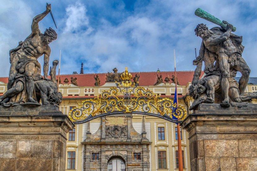 捷克-布拉格城堡