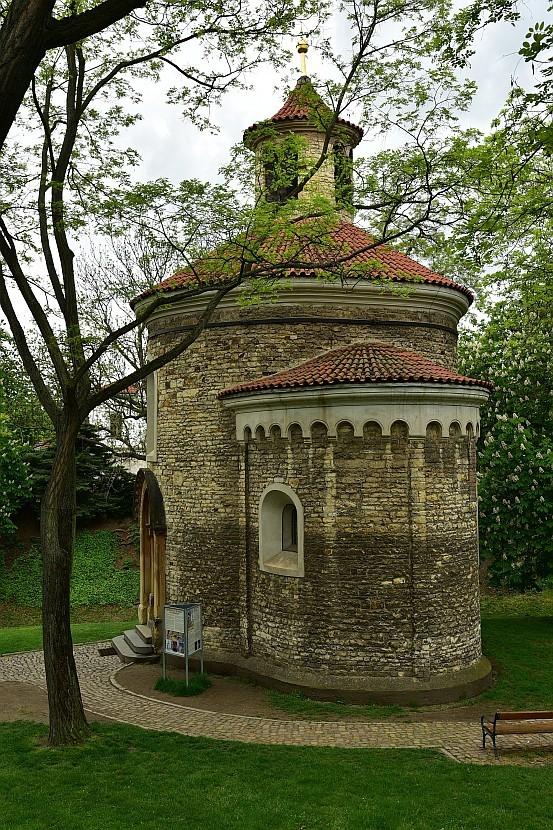 捷克-布拉格-高堡區Rotunda sv. Martina