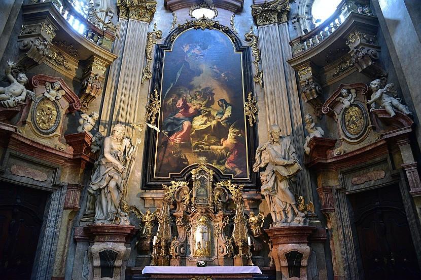 捷克-布拉格-小城區-聖尼古拉教堂