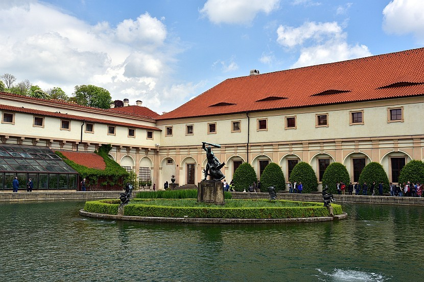 捷克-布拉格-小城區-華倫斯坦花園