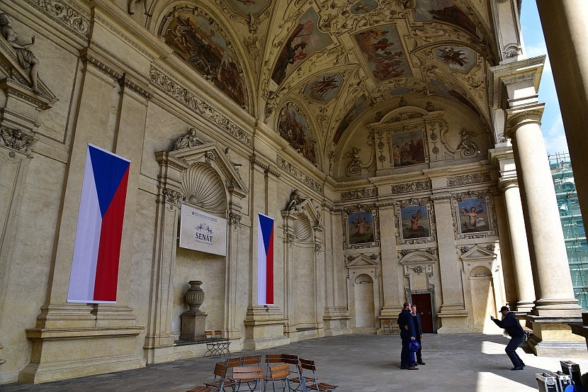 捷克-布拉格-小城區-華倫斯坦宮
