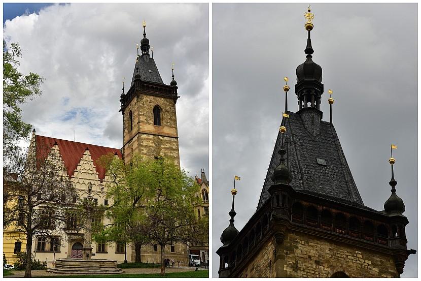 捷克-布拉格-新城區-查理廣場上的新市政廳