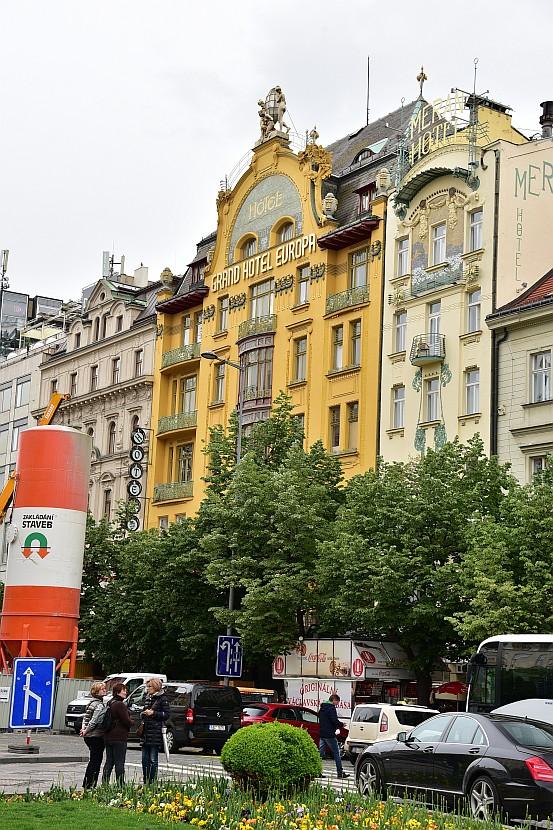 捷克-布拉格-新城區-瓦茨拉夫廣場歐洲大飯店