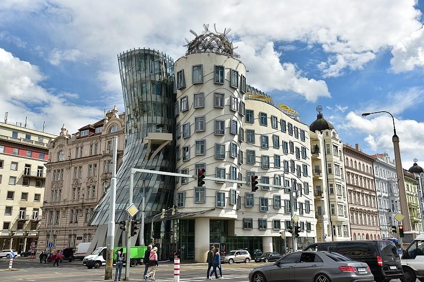 捷克-布拉格-新城區-跳舞的房子