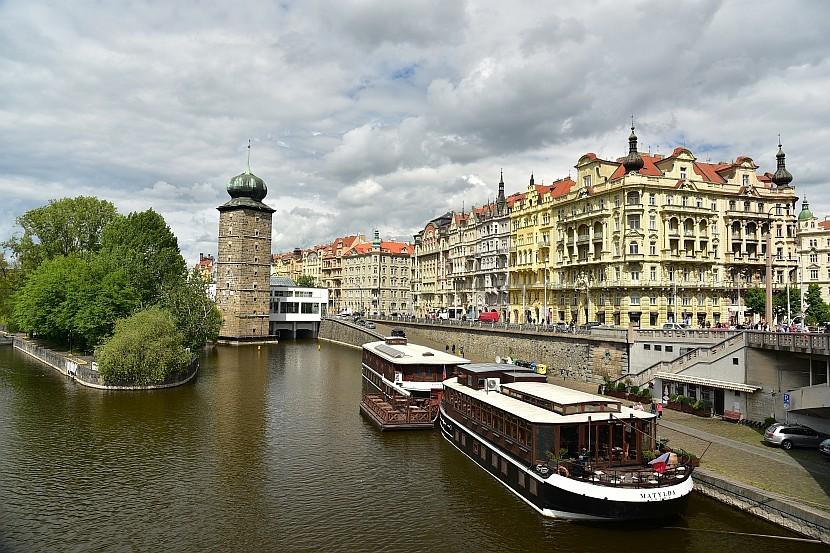 捷克-布拉格-新城區-伏爾塔瓦河沿岸