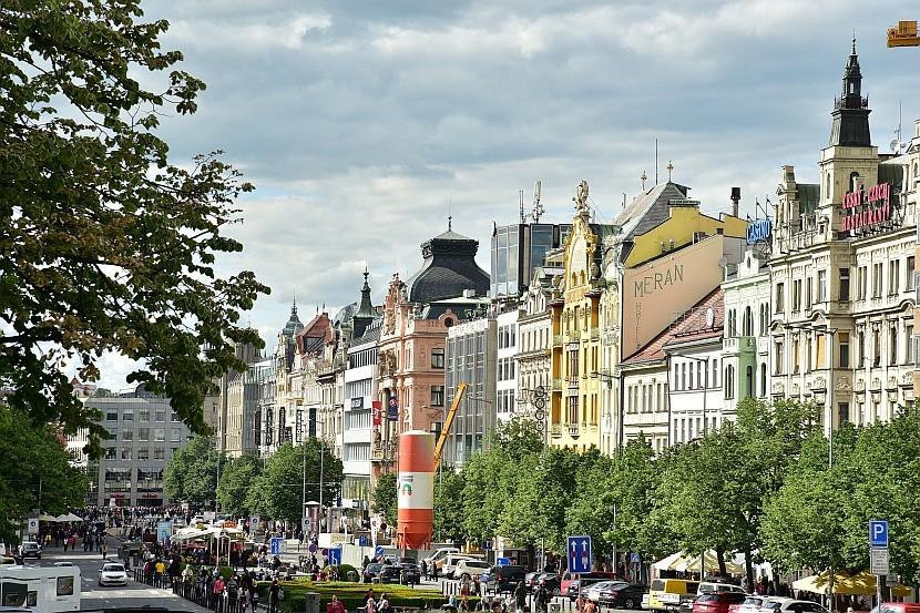 捷克-布拉格-新城區-瓦茨拉夫廣場