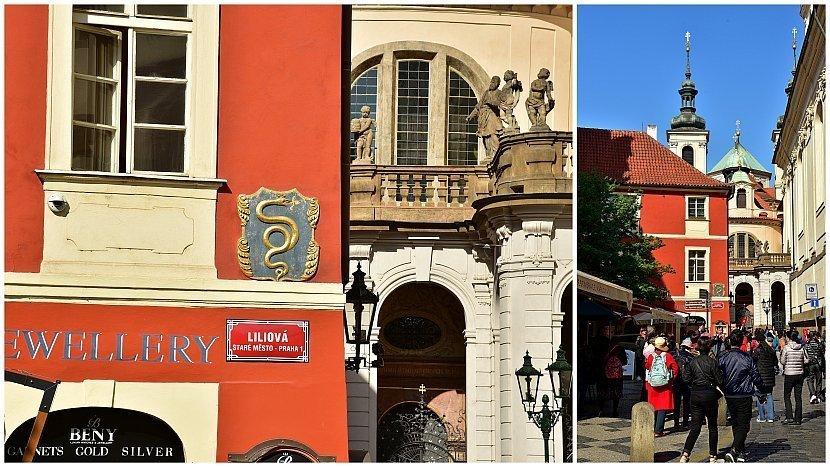 捷克-布拉格-舊城區-查理街-金蛇之屋