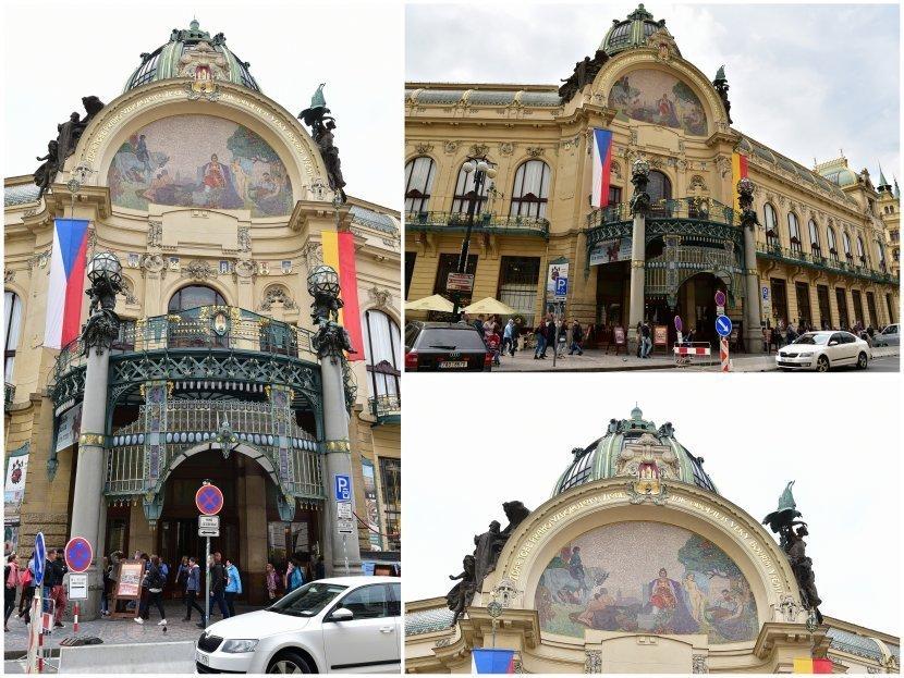 捷克-布拉格-舊城區-市民會館