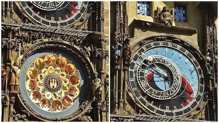 捷克-布拉格-舊城廣場-舊市政廳天文鐘