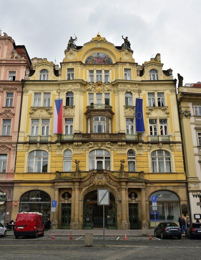 捷克-布拉格-舊城廣場-捷克地區發展部