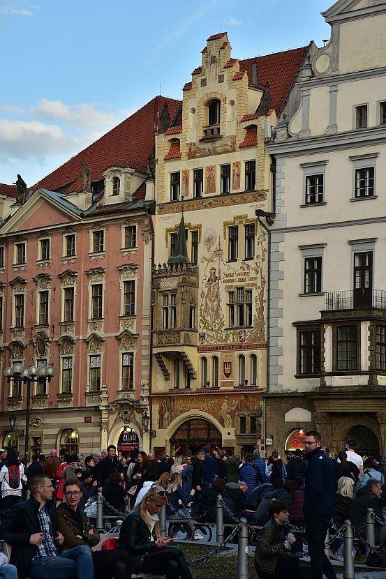 捷克-布拉格-舊城廣場-石聖母之屋