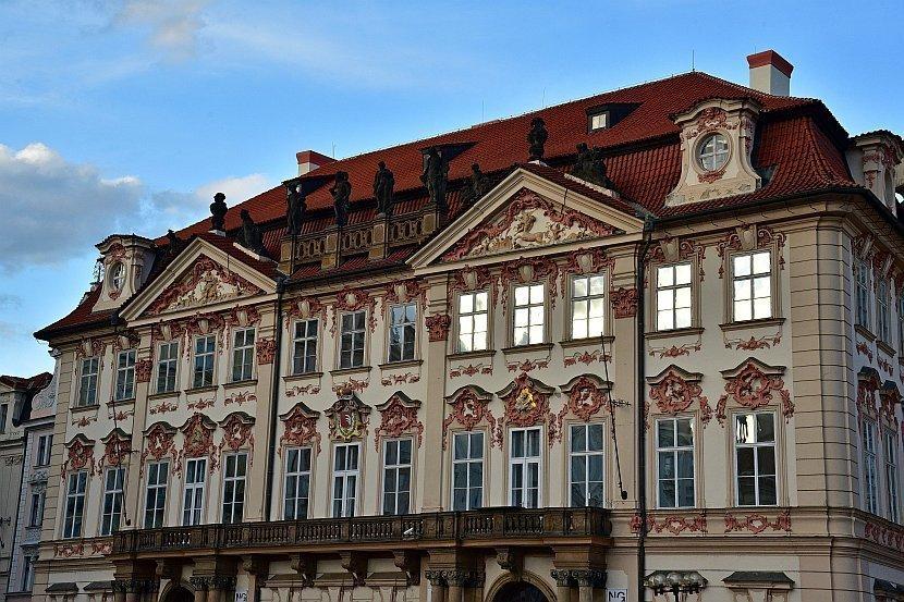 捷克-布拉格-舊城廣場-金斯基之宮