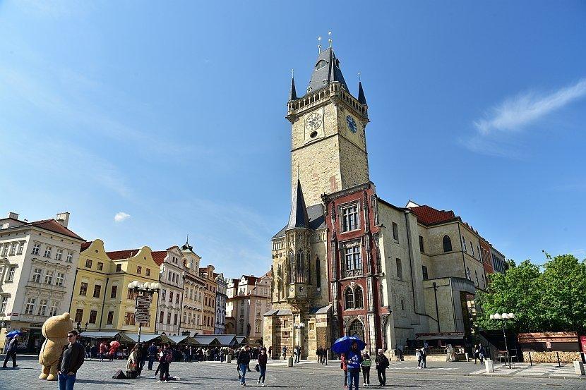 捷克-布拉格-舊城廣場的舊市政廳
