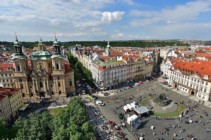 捷克-布拉格-舊城廣場-舊市政廳塔樓