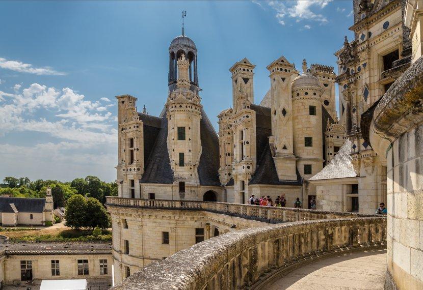 法國-都爾近郊-香波爾城堡