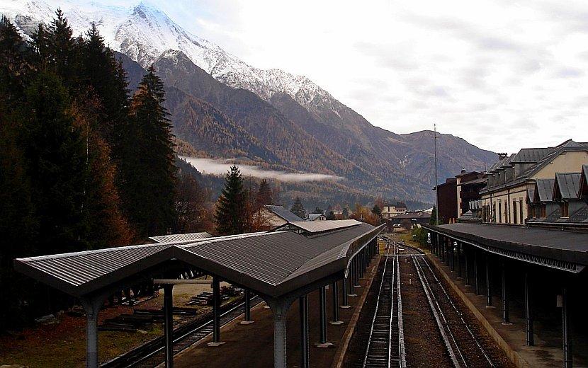 法國-霞慕尼-蒙特維冰河列車