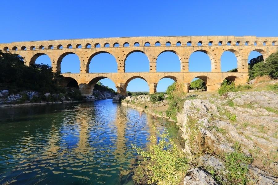 法國-普羅旺斯-加爾橋