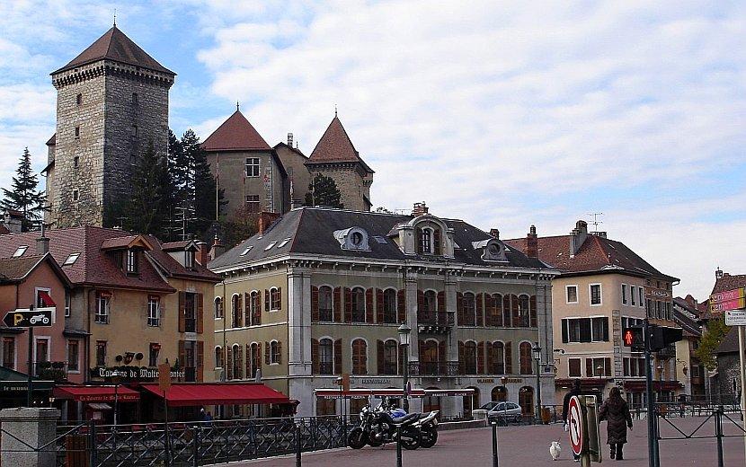 法國-安錫-舊城區
