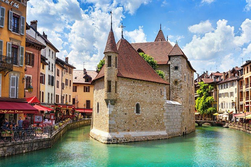 法國-安錫-舊城區島宮