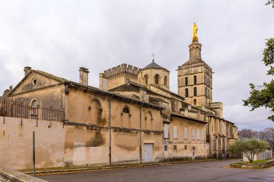 法國-亞維儂-阿維尼翁主教座堂