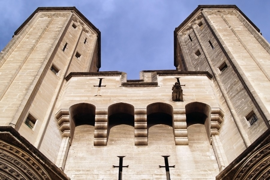 法國-亞維儂-主教宮