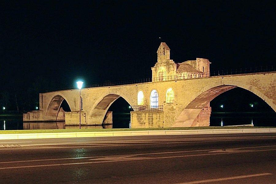 法國-亞維儂-聖貝內澤橋